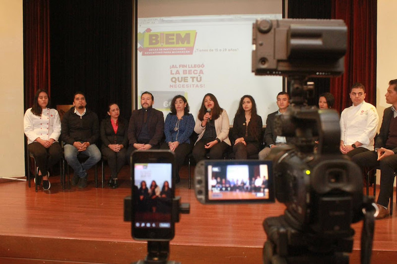 El Instituto de la Juventud Michoacana anuncia el lanzamiento de la convocatoria para el presente año