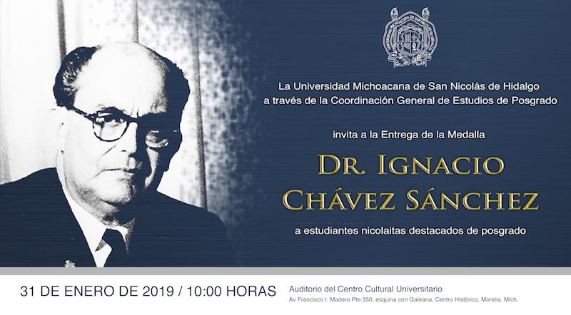 El jueves 31 será la entrega de la medalla en el Centro Cultural Universitario