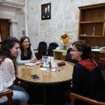 Al respecto, la titular de la SSM, Diana Carpio Ríos, destacó la importancia de conjuntar las acciones que permitan mejorar las condiciones de vida de mujeres y niñas en la entidad