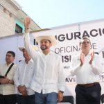 Ocampo Córdova informó que esta casa de enlace, es la primera de tres que operarán en su Distrito, las otras dos se instalarán en Tuzantla y Jungapeo y se prevé sean inauguradas próximamente