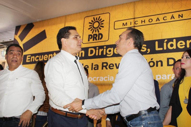 Aquí nacimos como gran fuerza política y seguiremos como izquierda progresista y democrática: PRD