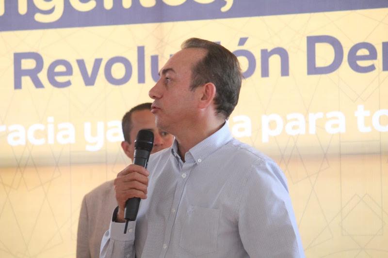 Con el trabajo y esfuerzo de líderes y militantes, el PRD se fortalece: Soto Sánchez