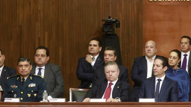 La ceremonia que encabezó el Presidente de México, Andrés Manuel López Obrador y el gobernador de Querétaro, Francisco Domínguez Servién, tuvo lugar en el Teatro de la República de la ciudad de Querétaro