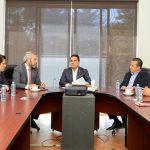 El mandatario michoacano también revisó la agenda del Estado que requiere la coordinación de esfuerzos entre los Poderes Ejecutivo y Legislativo
