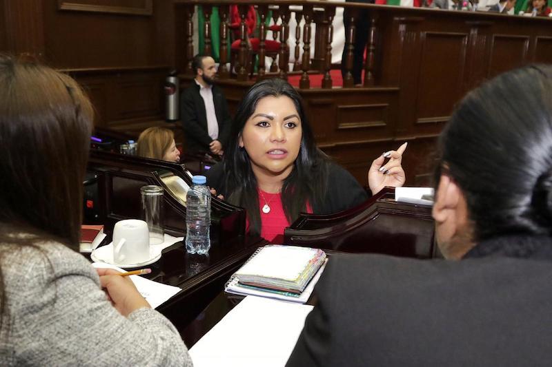 La legisladora originaria de Uruapan recalcó que dicho documento se debe elaborar pensando en la población michoacana y sus necesidades