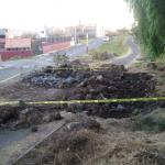El Parque Lineal Bicentenario se construyó hace unos años, entre 2010 y 2011, durante el cuarto periodo de Fausto Vallejo como presidente municipal de Morelia, con recursos federales y sobre el derecho de paso del citado gasoducto que pasa por el poniente de la ciudad