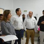 Ma. del Refugio Cabrera Hermosillo, presidenta de la Comisión dejó en claro que el Congreso del Estado revisa a detalle todas las obras y acciones en hospitales y centros de salud que reportó el Ejecutivo Estatal