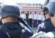 Junto a autoridades federales y municipales, Aureoles Conejo instala la Mesa de Coordinación Regional para la Construcción de la Paz