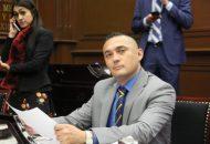 Toledo Rangel recordó que el año anterior Michoacán recibió por la federación 41.6 millones de pesos, sin embargo el nuevo gobierno federal recortó en manera importante los recursos para el presente ejercicio fiscal