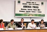Evaluación educativa nunca más será un castigo: María Chávez