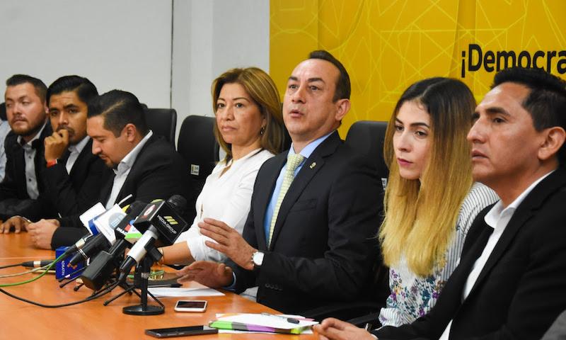 Soto Sánchez hizo énfasis en que, en el PRD están quienes tienen la convicción y comulgan con los principios que dieron origen al partido desde hace 30 años