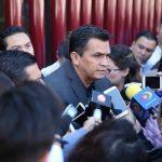 Antonio Salas Valencia y David Cortés Mendoza participan en las Comisiones Unidas de Justicia y Gobernación: Estrada Cárdenas
