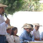 Ocampo Córdova participó en una reunión ordinaria con la Asociación Ganadera de Huetamo