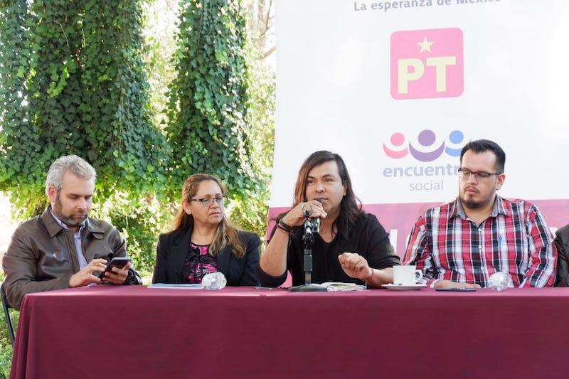 El delegado nacional del Morena reiteró la buena disposición de su partido para continuar el diálogo con el gobierno de Silvano Aureoles