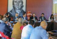 Reginaldo Sandoval acordó con Silvano Aureoles trabajar en coordinación para materializar la Cuarta Transformación en Michoacán y para ello se agendaron varias tareas