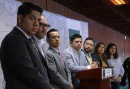 """Los legisladores que abandonaron las filas perredistas coincidieron en que tomaron la decisión para """"votar libremente y sin línea política"""""""