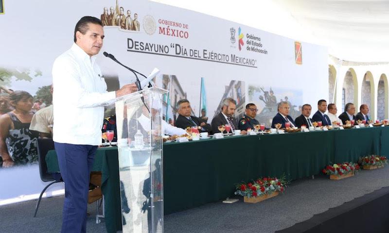 El comandante de la 21 Zona Militar asegura que la institución se capacita y moderniza para enfrentar los retos que prevalecen en el país