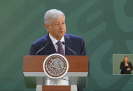 Sobre la oposición de los senadores del PAN a aprobar la creación de la Guardia Nacional, López Obrador hizo un llamado para reconsiderar su posición