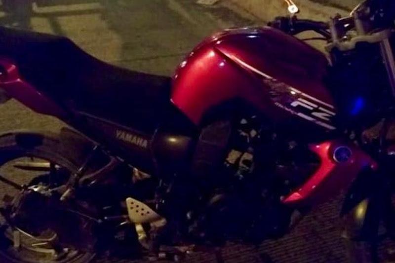La persona y motocicleta serán puestos a disposición de la autoridad competente