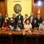 Alfredo Ramírez Bedolla, coordinador de los diputados de Morena, puntualizó que ejercer la política en razón del bien común, y devolver el poder público a la ciudadanía, son principios que aglutinan a los legisladores que forman parte de la Alianza 4T