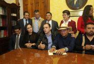Gaona García refirió que impulsará esta propuesta de la mano con la recién conformada alianza en favor de la Cuarta Transformación, además de que buscará que tenga eco y sea considerada por los 40 diputados