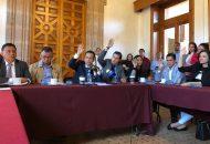 Núñez Aguilar apeló a la sensibilidad y compromiso de sus compañeras y compañeros diputados para evitar polarizar más el nombramiento de quien asuma la titularidad de la Fiscalía General de Michoacán