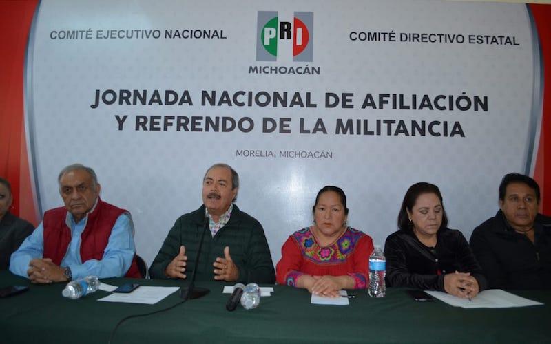 Enrique Martini Castillo, delegado del CEN, destacó que la información es de manera horizontal y será el CEN quien concentre toda la información, a fin de conformar el nuevo padrón nacional