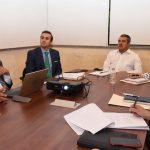 En su turno, Raúl Morón Orozco, presidente municipal, señaló que su administración trabajará de la mano con la Sedeco, para integrar a Morelia y continúe avanzado en la implementación de la mejora regulatoria