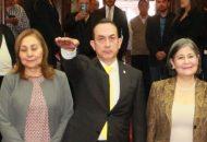 Arriba a la Legislatura local en sustitución de Adrián López Solís, a quien este viernes le fue autorizada por el Pleno Legislativo