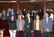 El pleno del Congreso aprobó el dictamen mediante el cual se concede licencia por tiempo indefinido y sin goce de sueldo al ciudadano Adrián López Solís, para separarse de su cargo como diputado
