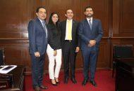 Los integrantes del Comité Ejecutivo Estatal (CEE), reconocieron en Soto Sánchez su amplia capacidad para el diálogo, cabildeo y entendimiento
