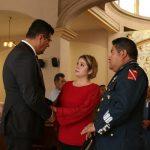 """""""A los soldados, marinos y policías de México, los michoacanos les reiteramos nuestro más profundo agradecimiento por el valor y el sacrificio con que todos los días realizan su invaluable labor de protegernos"""": Juan Bernardo Corona"""