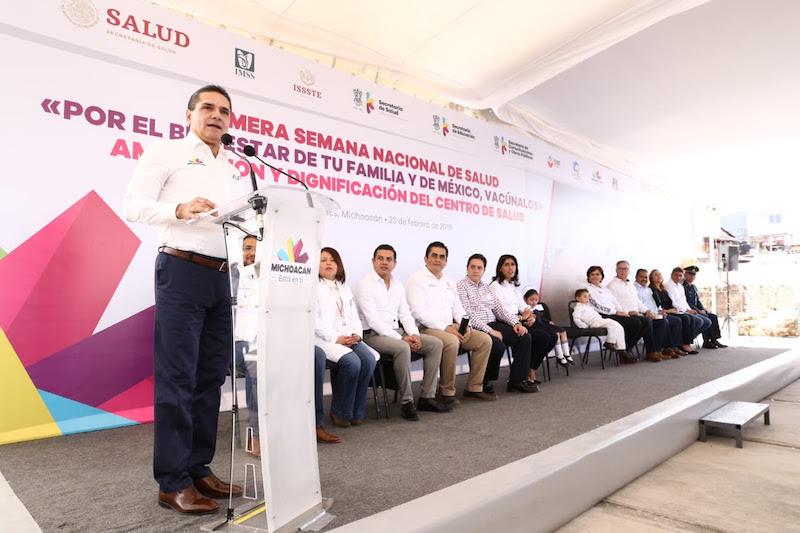 Ante la crisis a nivel nacional, el mandatario estatal anuncia un programa de reactivación de la economía para la entidad: Aureoles Conejo