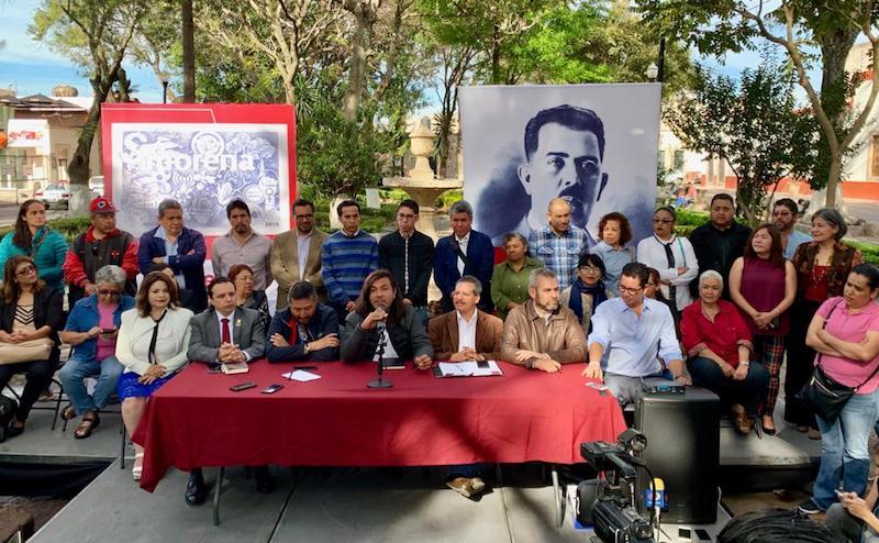 Sergio Pimentel y Martín López coincidieron en que Alfredo Ramírez Bedolla, después de que un grupo de diputados locales intentara desconocerlo como coordinador, ha sido víctima de una injusta campaña de desprestigio que no sólo daña su persona, sino también al partido