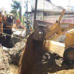 La dependencia encabezada por Sergio Adem Argueta, continúa con los trabajos de infraestructura básica, equipamiento urbano y obras de regeneración vial en distintos puntos de la capital del estado