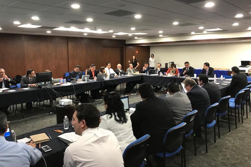 En la reunión de trabajo, se contó con la presencia también de representantes de la Asociación Nacional de Universidades e Instituciones de Educación Superior (ANUIES)