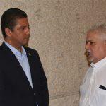 Se trató de una reunión para conocer los avances en las Comisiones Mixtas y Especiales