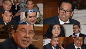 Las comisiones unidas de Justicia y de Gobernación del Congreso del Estado aprobaron la lista de los 10 aspirantes a la Fiscalía General del Estado