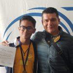 El alumno del plantel de Guacamayas, se impuso a 179 estudiantes