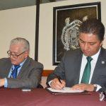 El rector Raúl Cárdenas Navarro explicó que, por medio de este convenio, los estudiantes nicolaitas podrán vincularse con el sector productivo