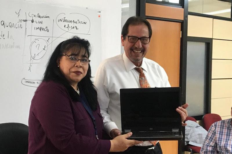 Luciano Grobet, agradeció la donación al tiempo que señaló que dicho equipo contribuirá a mejorar la capacidad operativa del personal del IPLAEM