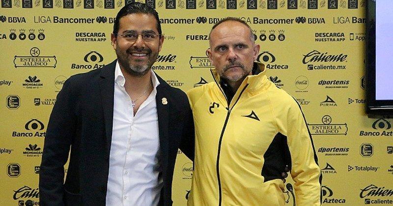 Para Torrente los retos al frente de Monarcas Morelia son bastante claros, su idea es levantar en el aspecto anímico para trabajar a la par el aspecto futbolístico