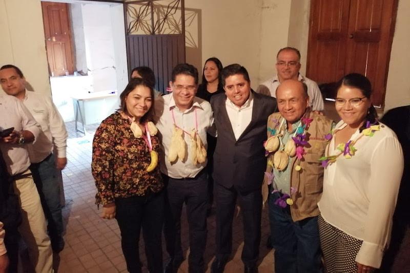 Pantoja Arzola informó que será en el área rural de la capital del estado en dónde se inaugure la primer sucursal bancaria del país