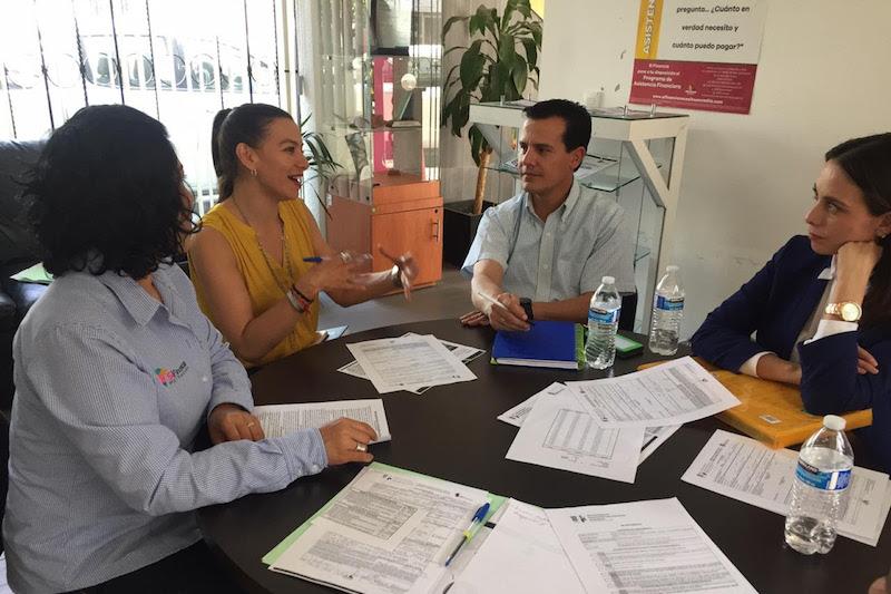 También se capacitó al personal del municipio en el llenado de solicitudes y recepción de documentos, por lo que están listos para la apertura de ventanilla a interesados en obtener un crédito en la demarcación