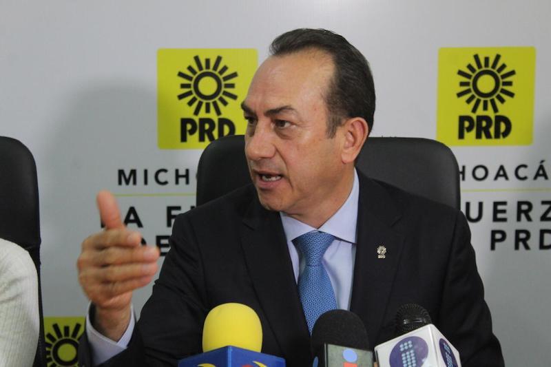 Soto Sánchez continuará al frente del Comité Ejecutivo Estatal del PRD