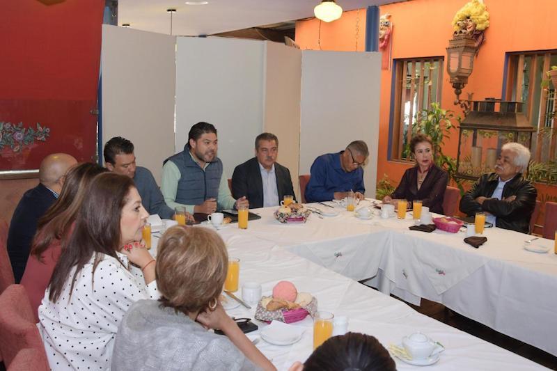 Morón Orozco reiteró que el Gobierno Municipal atenderá a todos los sectores de la sociedad en el municipio