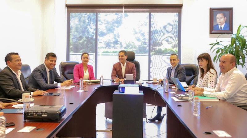 Aureoles Conejo celebró los avances realizados en las secretarías de Educación y Seguridad Pública, así como las campañas de la Coordinación General de Comunicación Social