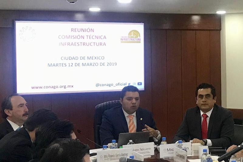 En ese encuentro participó en representación del Gobierno de Michoacán el titular de la SCOP, José Hugo Raya Pizano
