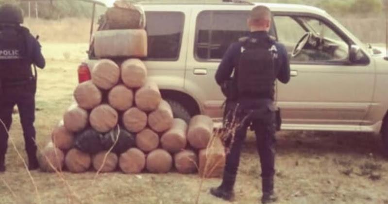 Al momento del aseguramiento, la droga se encontraba empacada en 24 paquetes con forma cilíndrica