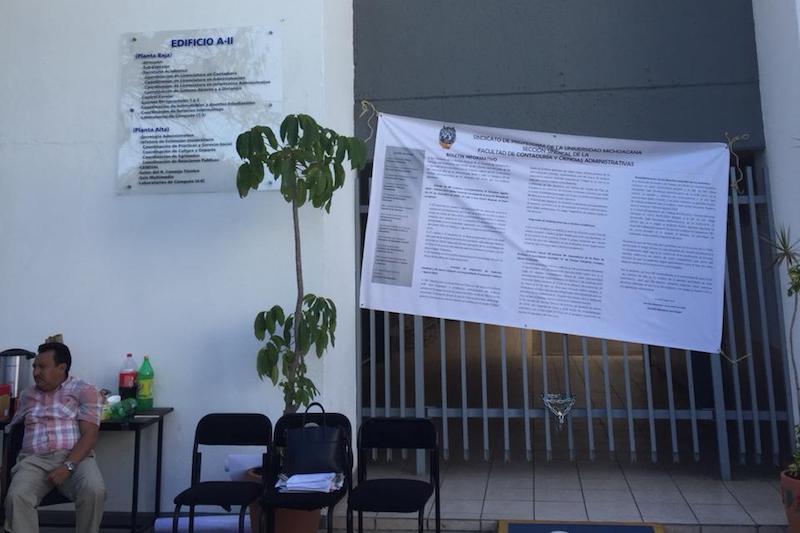Se ha estado en constante comunicación con la sección sindical del SPUM, para informar sobre asuntos concretos que se relacionan con casos de compañeros maestros: Juan Carlos Miranda